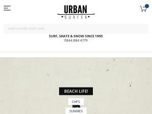 Urbansurfer.co.uk Voucher & Cashback