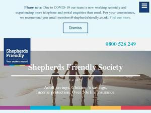 Shepherdsfriendly.co.uk Voucher & Cashback