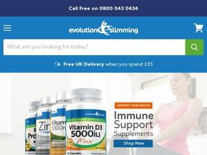Evolution-slimming.com voucher and cashback in August 2020