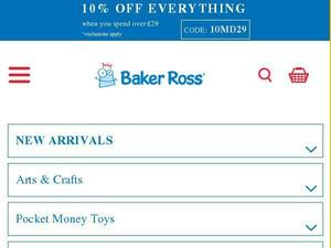 Bakerross.co.uk Voucher & Cashback