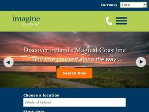 Imagineireland.com voucher and cashback in July 2020