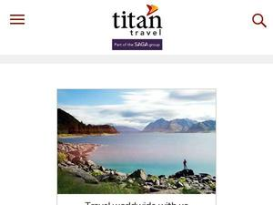 Titantravel.co.uk voucher and cashback in October 2020