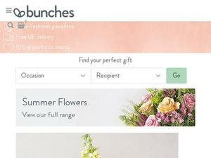 Bunches.co.uk Voucher & Cashback