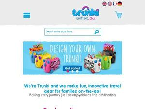 Trunki.co.uk Voucher & Cashback
