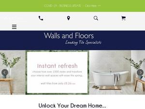 Wallsandfloors.co.uk Voucher & Cashback