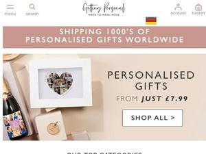 Gettingpersonal.co.uk voucher and cashback in August 2020