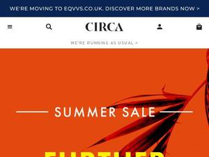 Circa.co.uk Voucher & Cashback