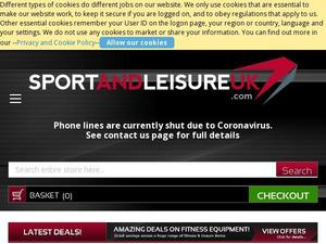 Sportandleisureuk.com Voucher & Cashback