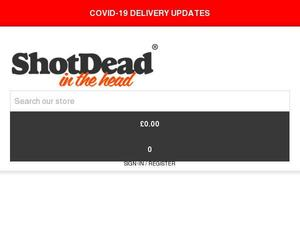Shotdeadinthehead.com voucher and cashback in October 2020