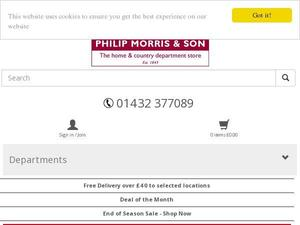 Philipmorrisdirect.co.uk Voucher & Cashback