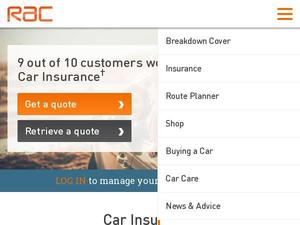 Rac.co.uk Voucher & Cashback