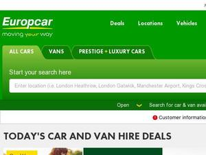 Europcar.co.uk Voucher & Cashback