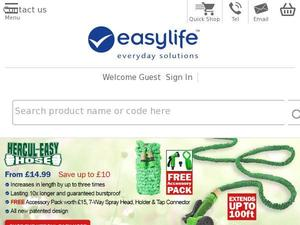Easylifegroup.com voucher and cashback in October 2020