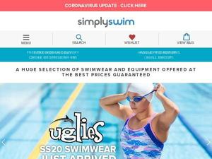 Simplyswim.com voucher and cashback in October 2020