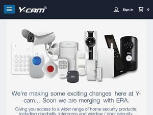 Y-cam.com voucher and cashback in October 2020