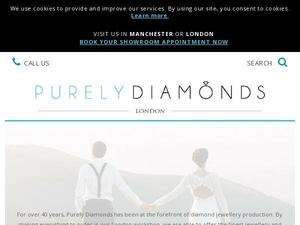 Purelydiamonds.co.uk voucher and cashback in October 2020