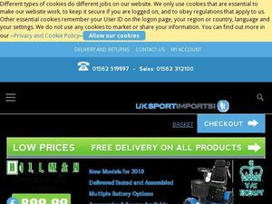 Uksportimports.com voucher and cashback in October 2020