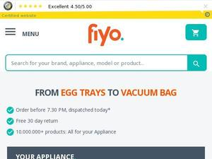 Fiyo.co.uk Voucher & Cashback