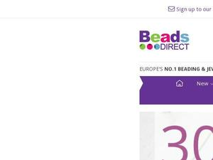 Beadsdirect.co.uk Voucher & Cashback