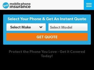 Buymobilephoneinsurance.com voucher and cashback in August 2020