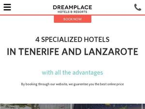 Dreamplacehotels.com Voucher & Cashback