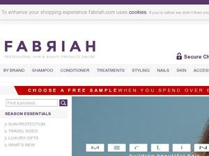 Fabriah.com voucher and cashback in December 2020
