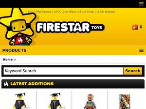 Firestartoys.com Voucher & Cashback