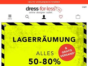 Dress-for-less.de Gutschein & Cashback