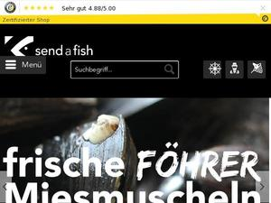 Send-a-fish.de Gutschein & Cashback