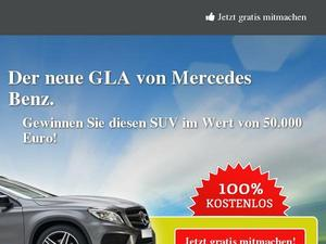 Mercedes GLA Win Inc Gutscheine & Cashback im August 2020