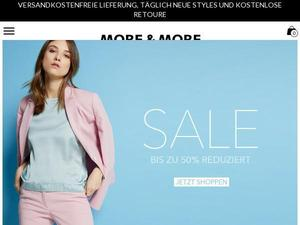 More-and-more.de Gutschein & Cashback