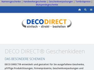 Deco-direct.de Gutschein & Cashback
