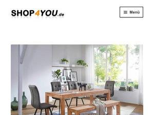 Shop4you.de Gutscheine & Cashback im August 2020