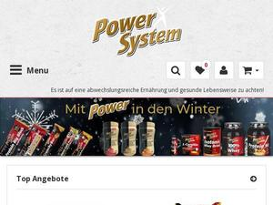 Power-system-shop.de Gutschein & Cashback