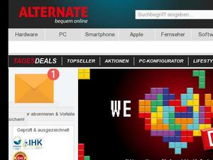 Alternate.de Gutschein & Cashback