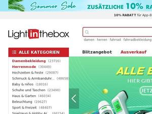 Lightinthebox.com Gutschein & Cashback
