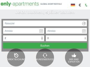 Only-apartments.de Gutschein & Cashback