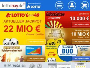 Lottobay - Der Lotto-Kiosk im Internet
