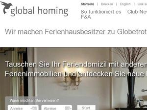 Global-homing.com Gutscheine & Cashback im November 2020