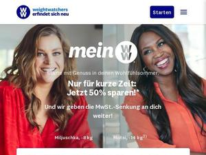 Weightwatchers.de Gutschein & Cashback