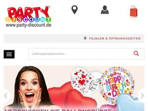 Party-discount.de Gutschein & Cashback