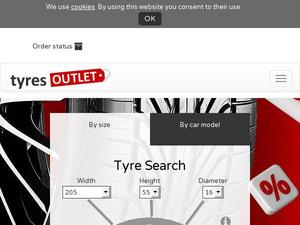 Tyres-outlet.co.uk Voucher & Cashback