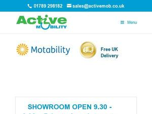 Activemob.co.uk Voucher & Cashback