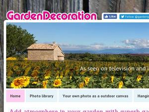 Gardendecoration.co.uk Voucher & Cashback
