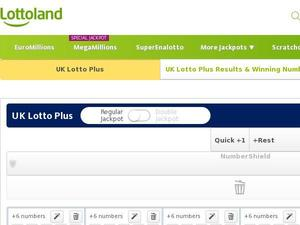 Lottoland.com voucher and cashback in November 2020