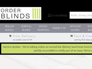 Orderblinds.co.uk Voucher & Cashback