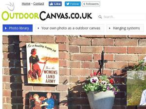Outdoorcanvas.co.uk Voucher & Cashback