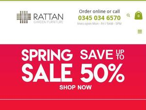Rattangardenfurniture.co.uk Voucher & Cashback