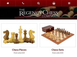 Regencychess.co.uk voucher and cashback in November 2020