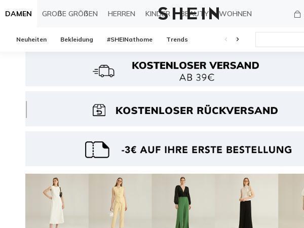 Shein Gutscheincode